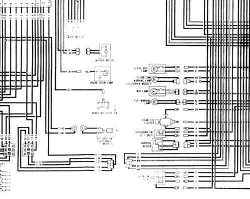 wiring diagrams the classic zcar club datsun 260z engine 1974 datsun 260z wiring diagram #14