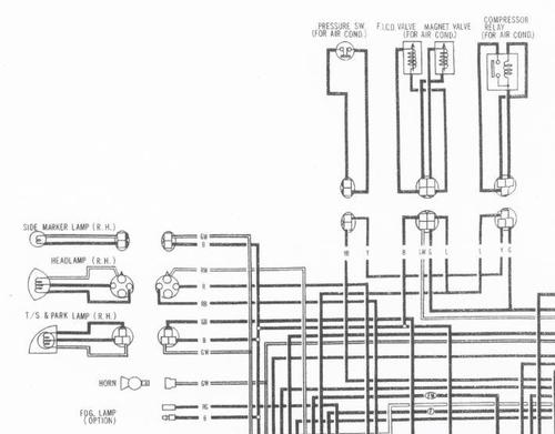 1976 Datsun Wiring Diagram | Wiring Diagram on