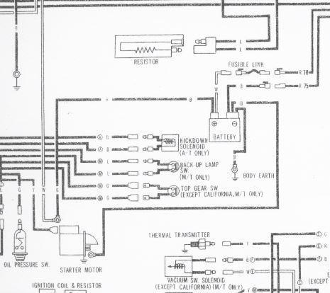1976 280Z FSM Wiring Diagram - Wiring Diagrams - The ...