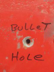 bullet hole #2