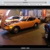 Classic car show in Birmingham UK