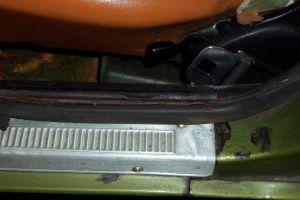 door jam rust - what is the restore procedure for this?