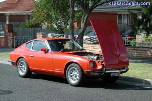 Dale's 240z used to be That Ozzy Guy's car
