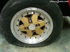 Western Wheels on parts car