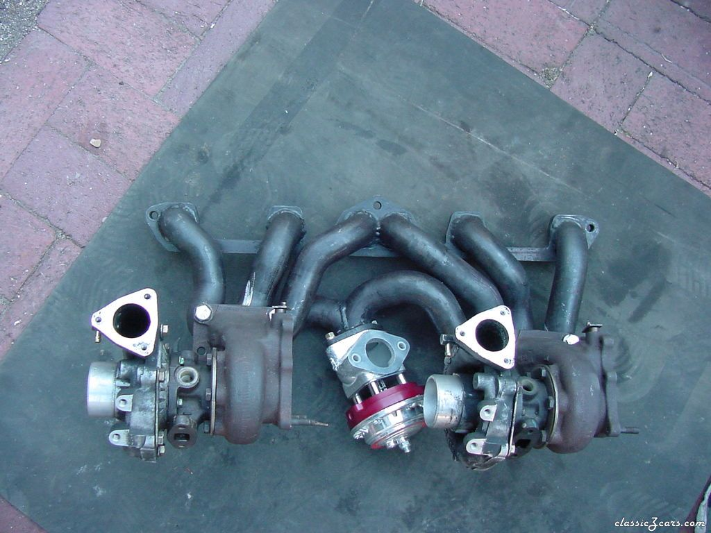 Twin turbo manifold