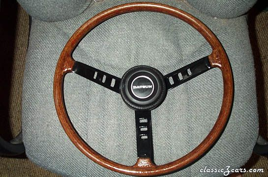 Restored Steering Wheel