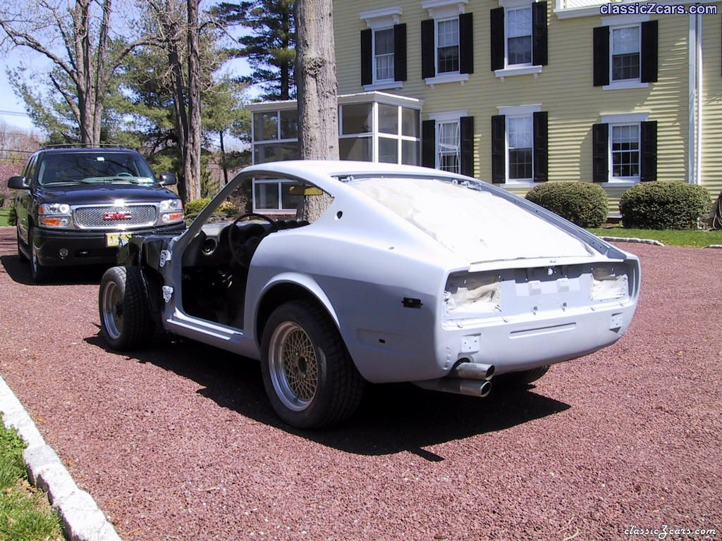 rear view of primed body