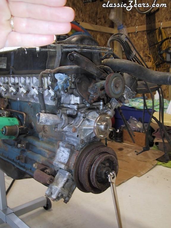 Turbo motor before