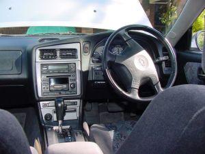 Stagea interior shot