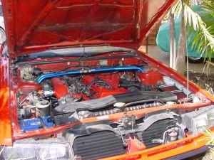 DR30 engine bay