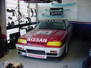Nispares HR31 GTS racecar