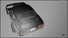 My 3D digital Alias model.