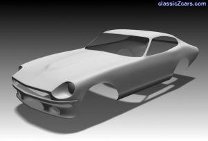 render of z car so far