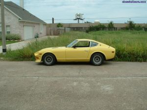 This is the car as I bought it in Houston