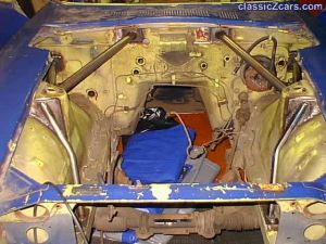 roll cage engine compartment