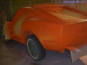 color coat left rear 240Z