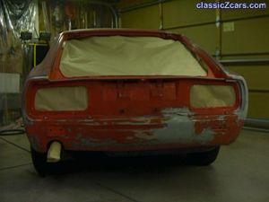 masked rear 240z
