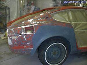 masked right 240Z