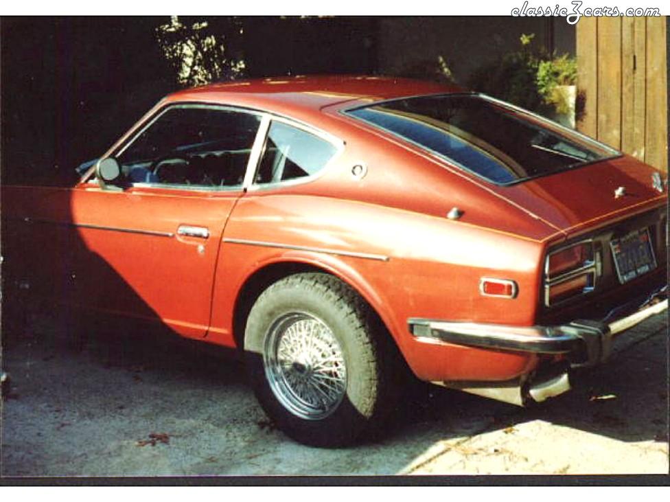 260z saved from salvage yard circa 1981