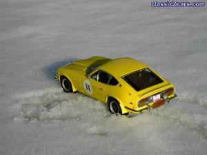 Little ElviZ in snow 2