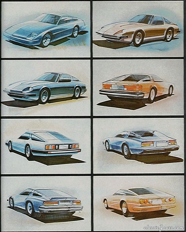 Original Zcar Concept Sketches