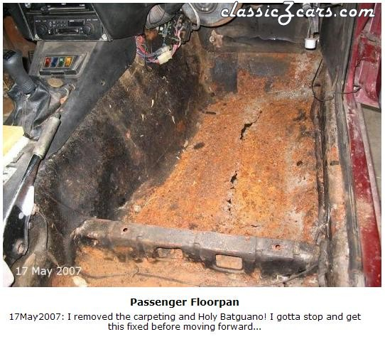Terminal Floorpan Rust