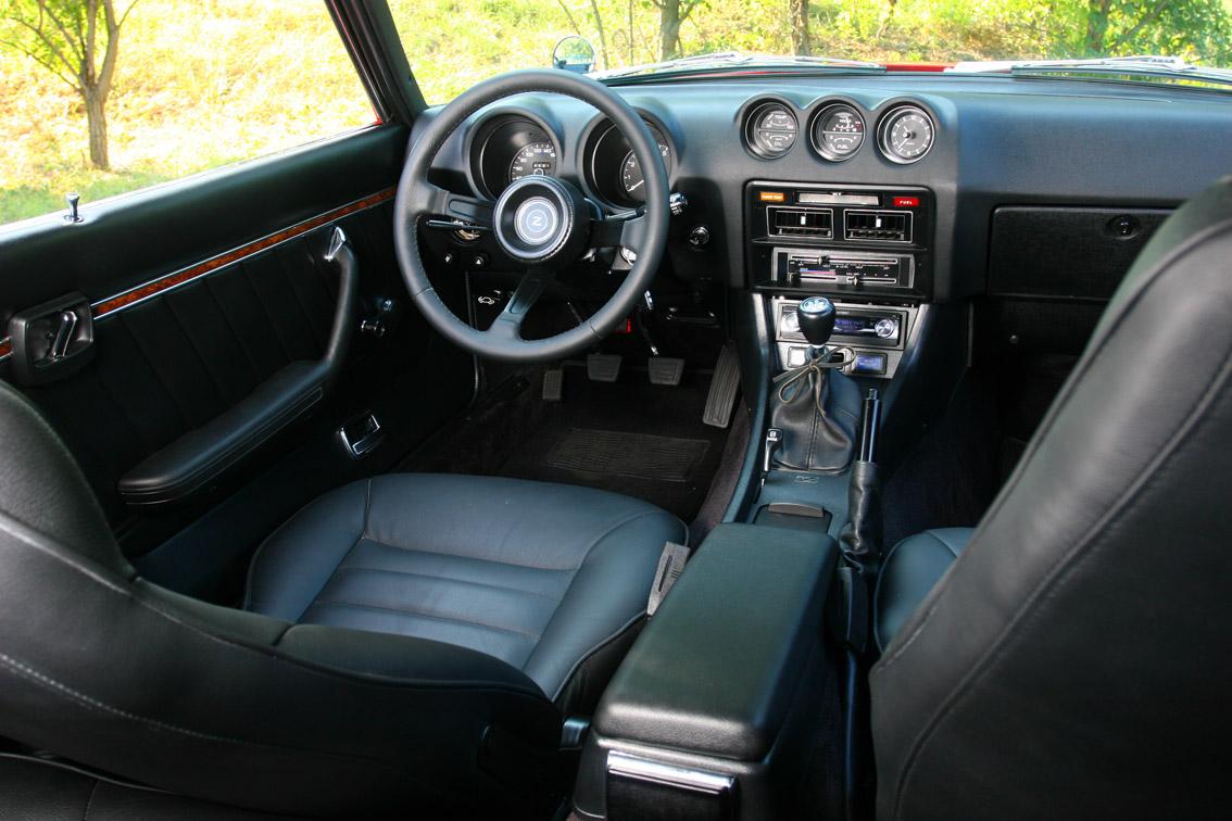 260z European version dashboard