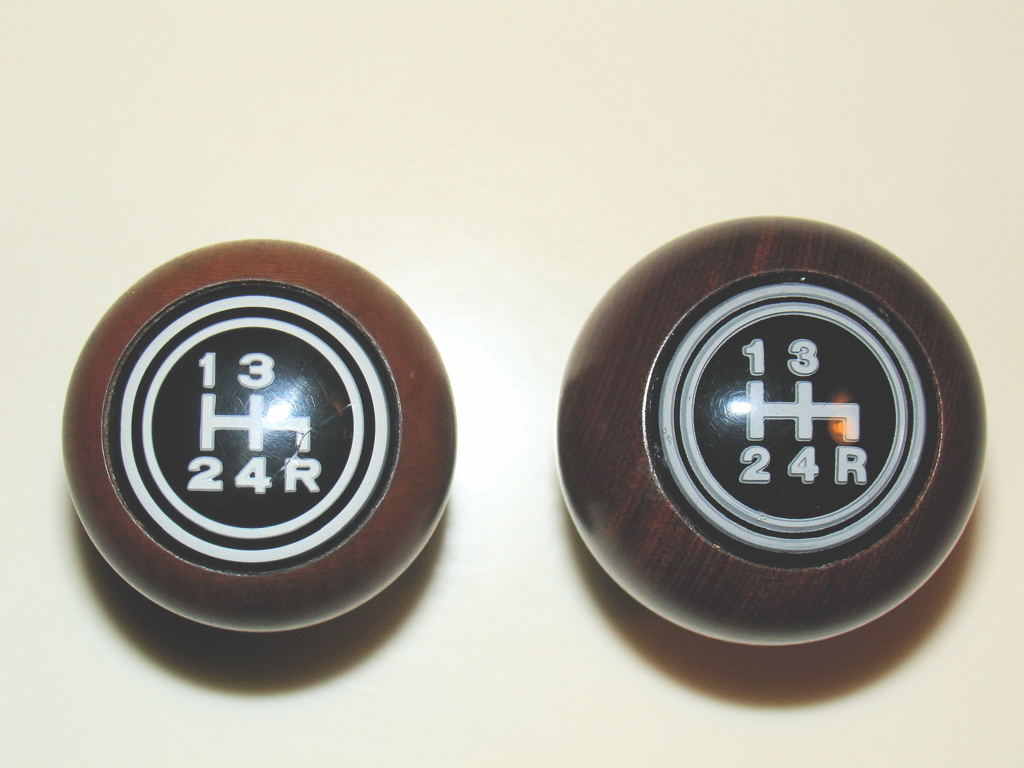 OE vs. Replacement shift knobs