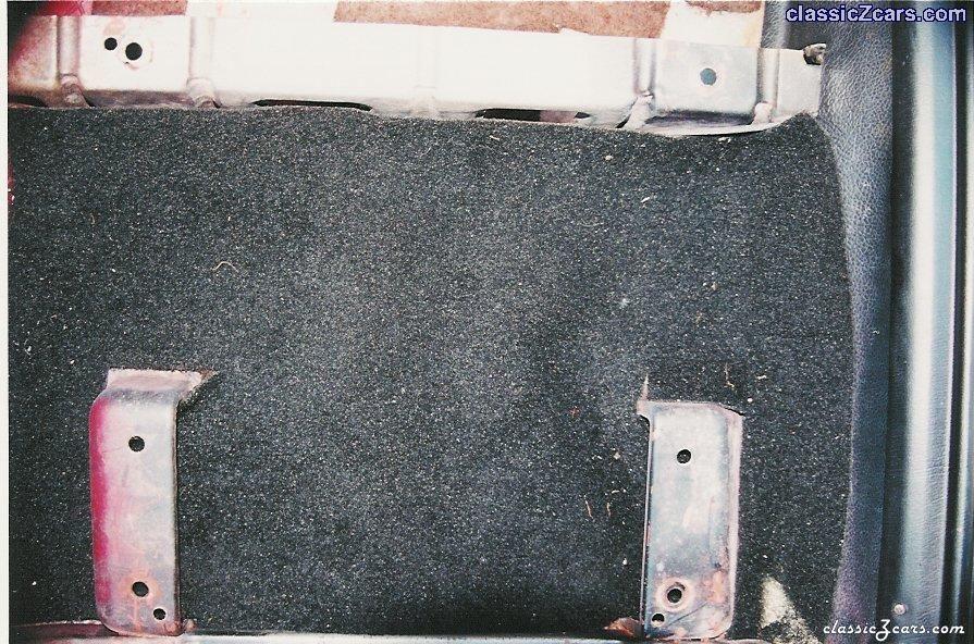 Recaro Passanger Seat  Floor Mount (240Z) Modification