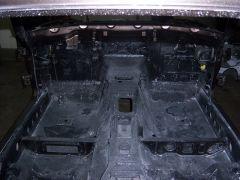 1975 280Z body work - floor pans
