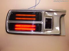 Tail Lights : Red/Yellow LEDS with Bronze Plexi Glass Lenses