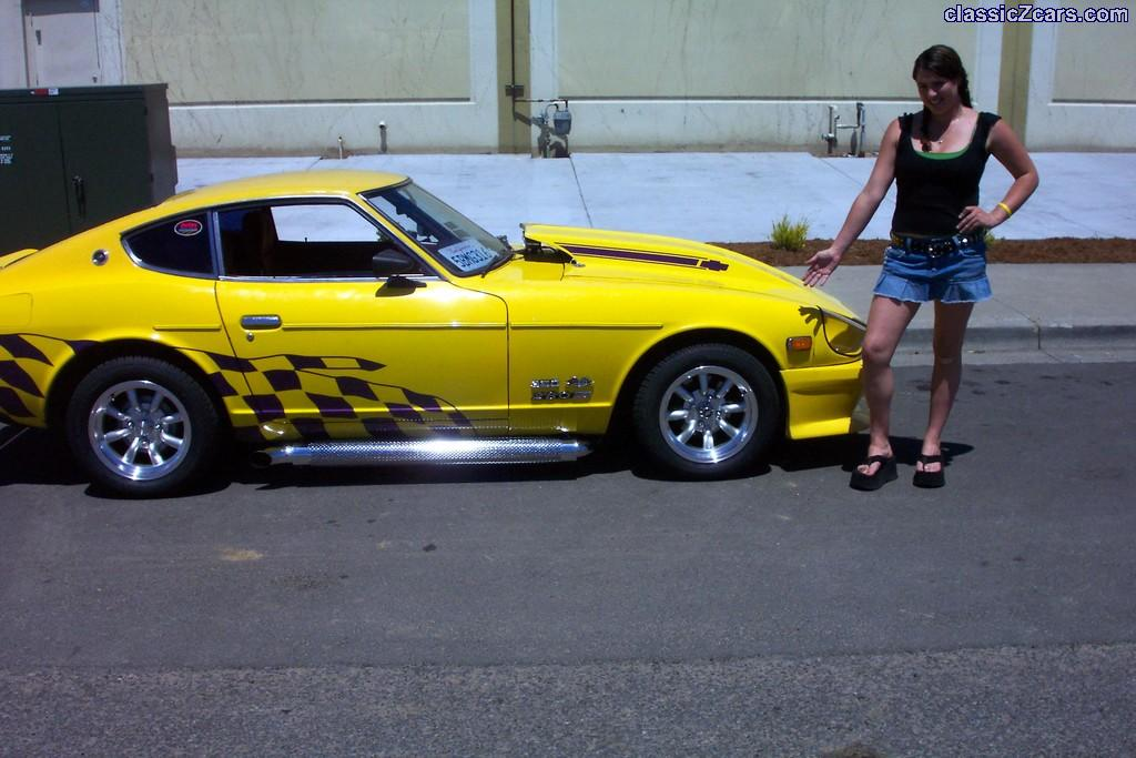 Ashley and my 75 280Z