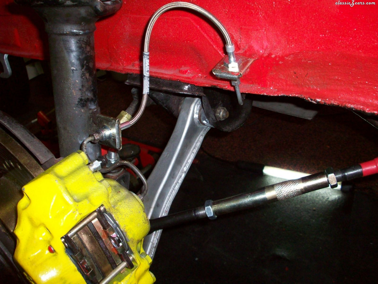 Angie's fron suspension
