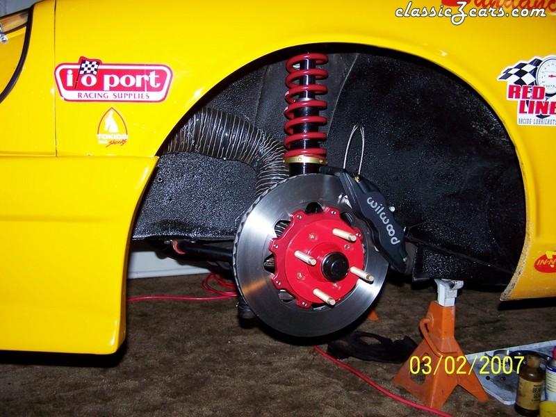 ArizonaZcar brake package installed.