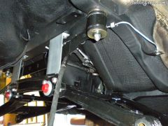 Lower control arms and the rest are in