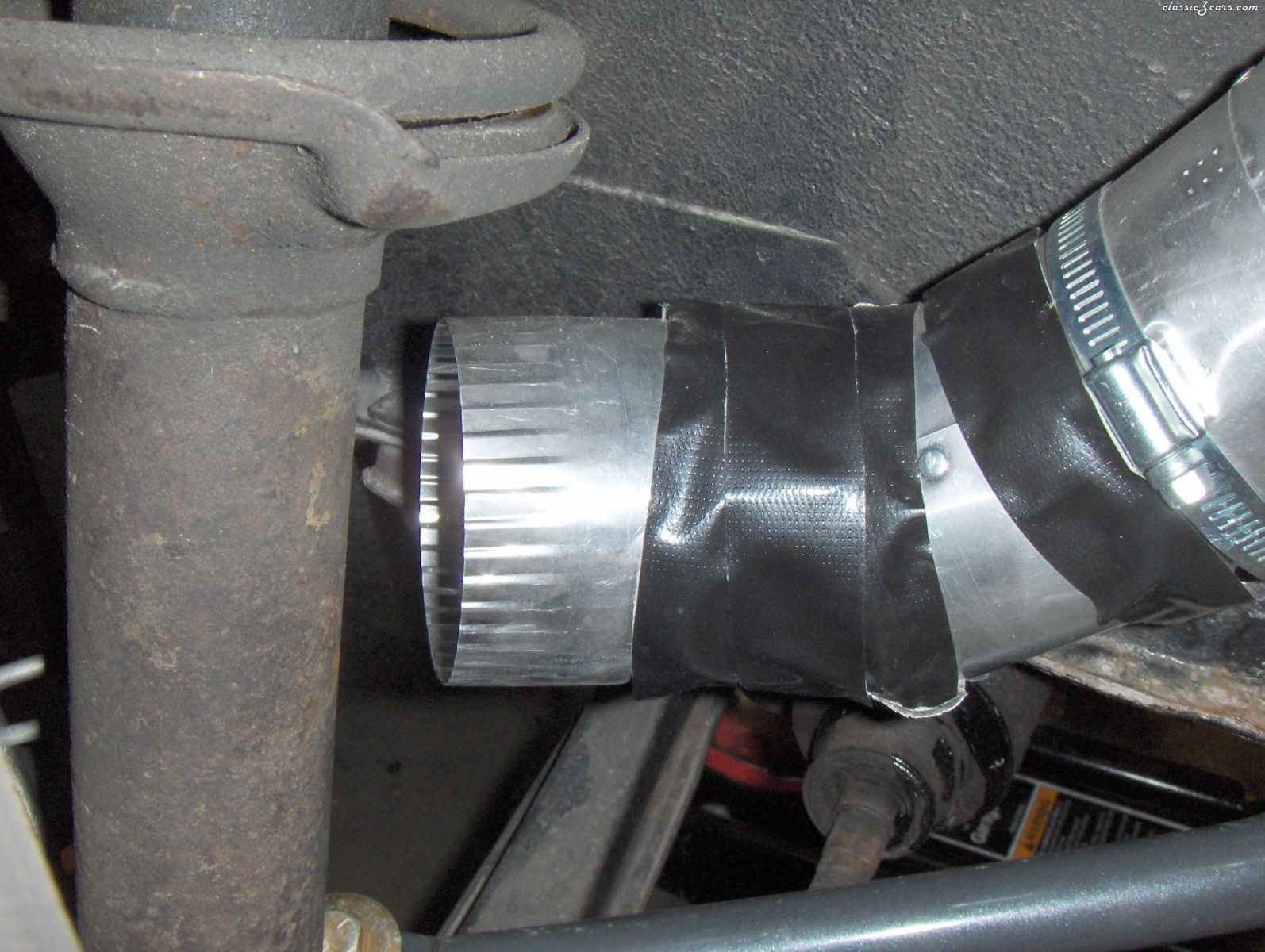 Brake cooling ducts