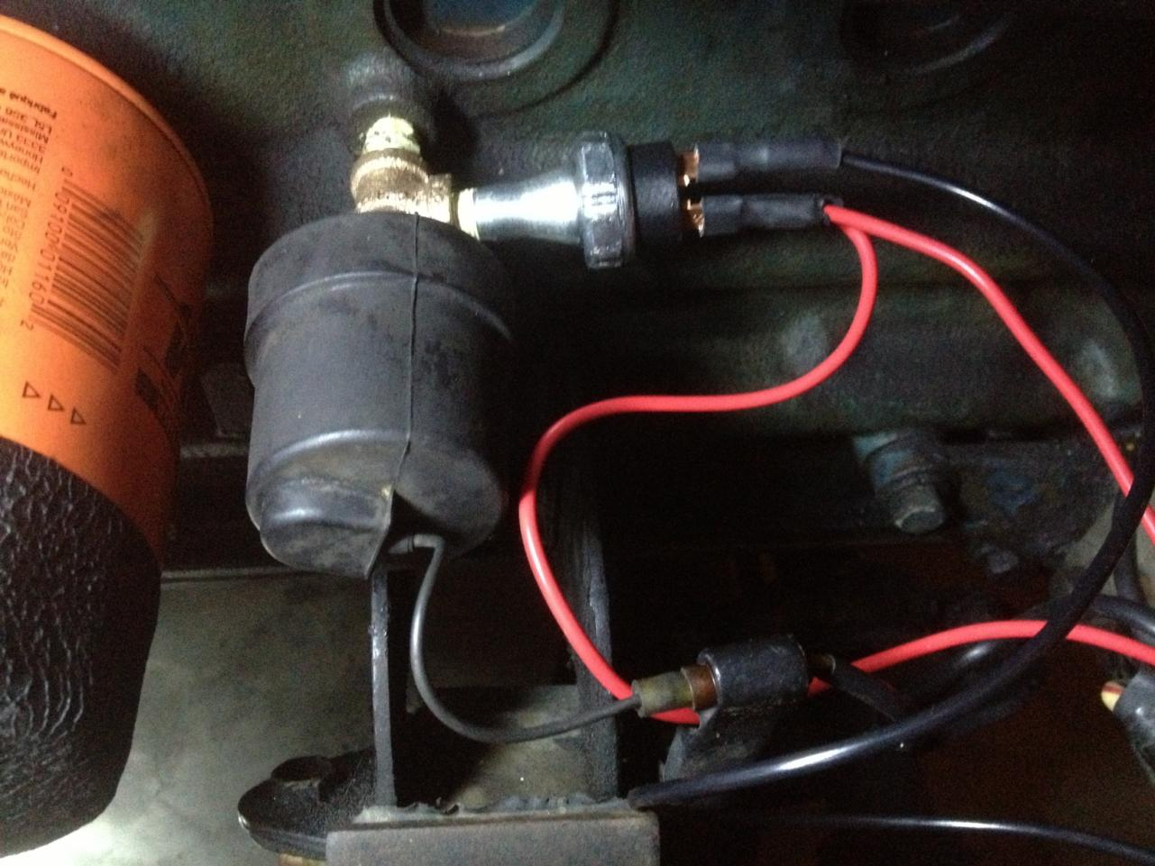 Supplementary Electric Fuel Pump Installation