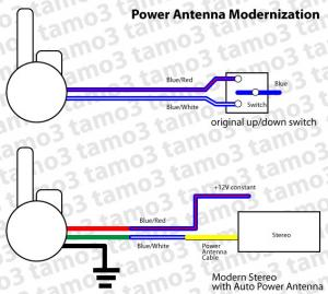 auto antenna wiring diagram schematic wiring diagram Wiring Diagram for RV Antenna