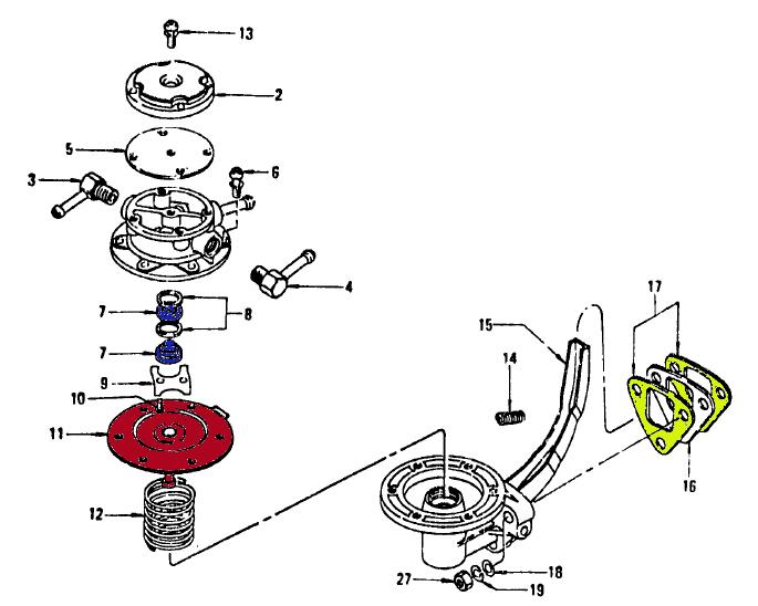 rebuild a 240z mechanical fuel pump