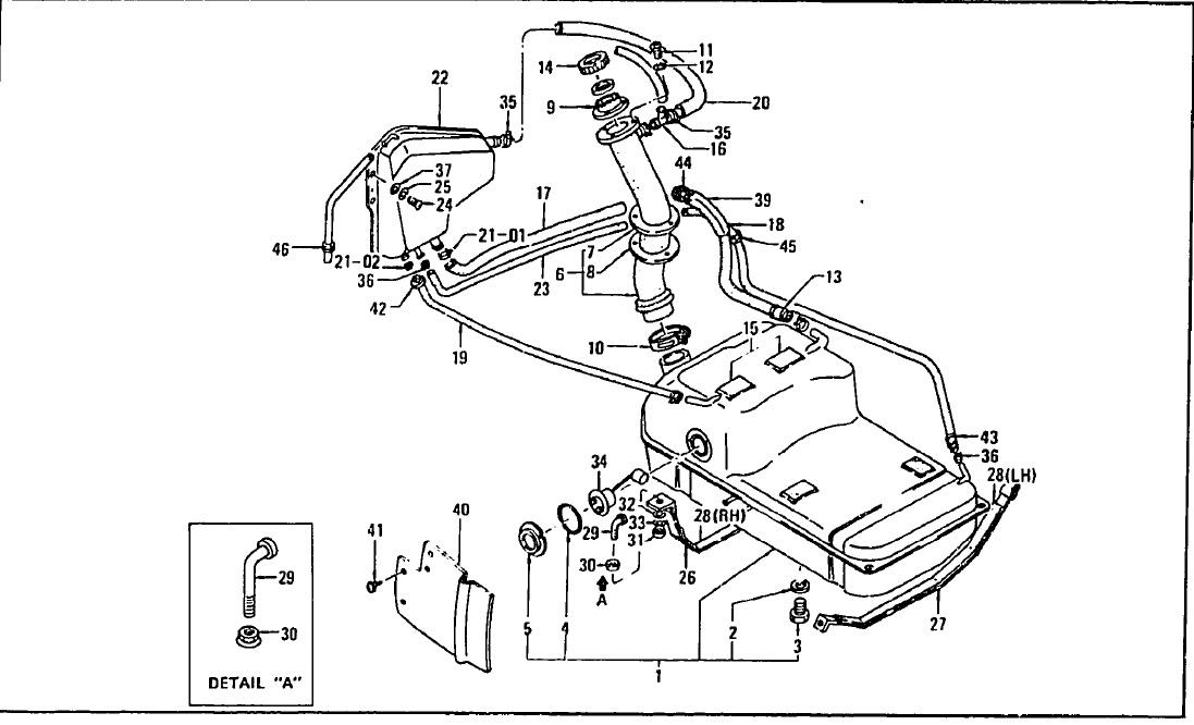 datsun 240z engine bay diagram