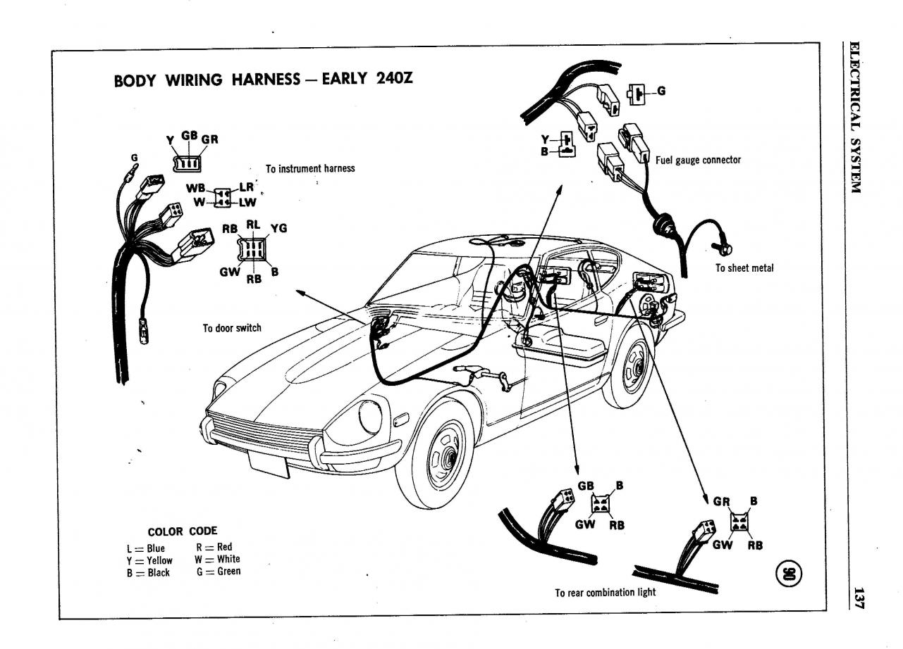 240z Distributor Wiring Free Diagram For You Dodge Datsun 280z Fuel Injection Engine 280zx