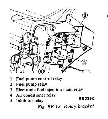 27847 1978 280z Fi Relay