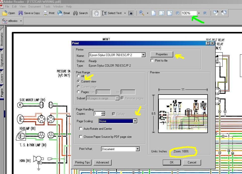 77 280z color wiring diagram