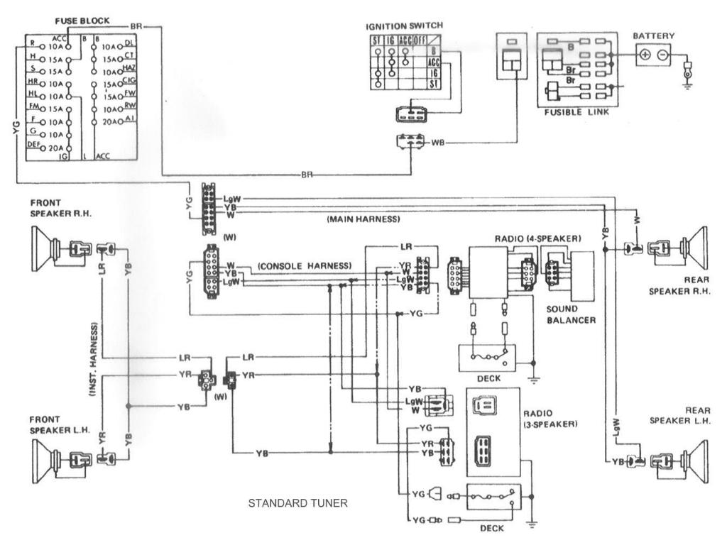 280zx Wiring Harness Diagram E30 Cassette
