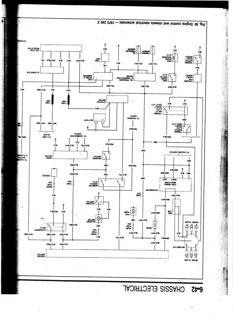 73 240z wiring - electrical