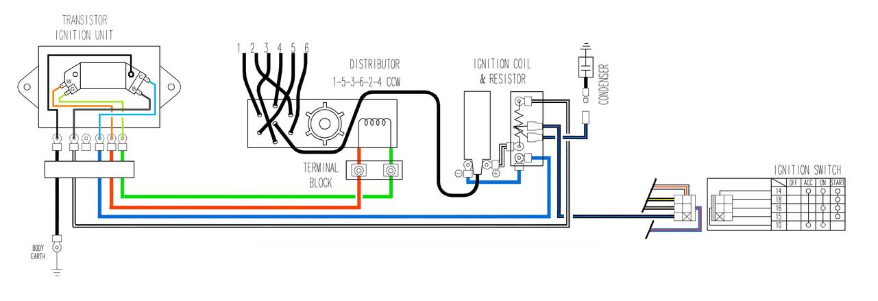 Fitting A Hei Module In Transistor Ignition Unit 1977 280z - Electrical