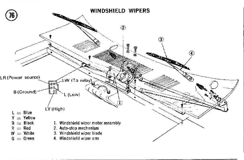 280z wiper motor wiring diagram bench testing    wiper       motor    help me    the classic zcar club  bench testing    wiper       motor    help me    the classic zcar club