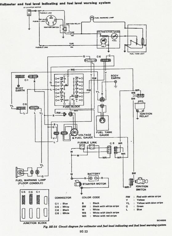 78 280z gauge problems - electrical