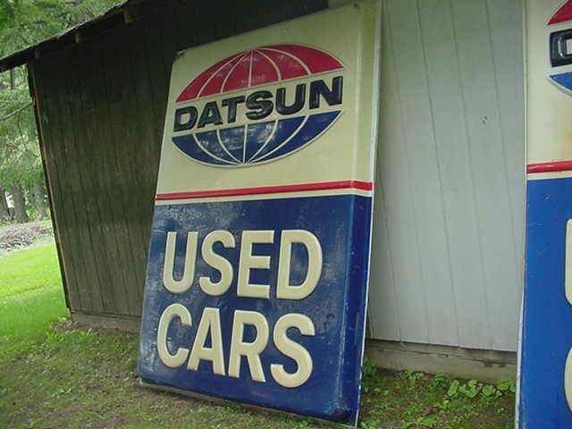 Datsun Dealership Signs Page 2 Open S30 Z Discussions The Classic Zcar Club