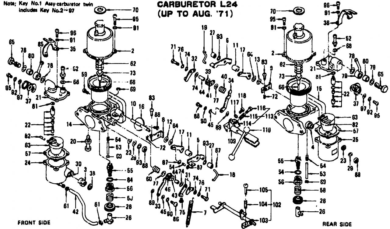 240z engine diagram